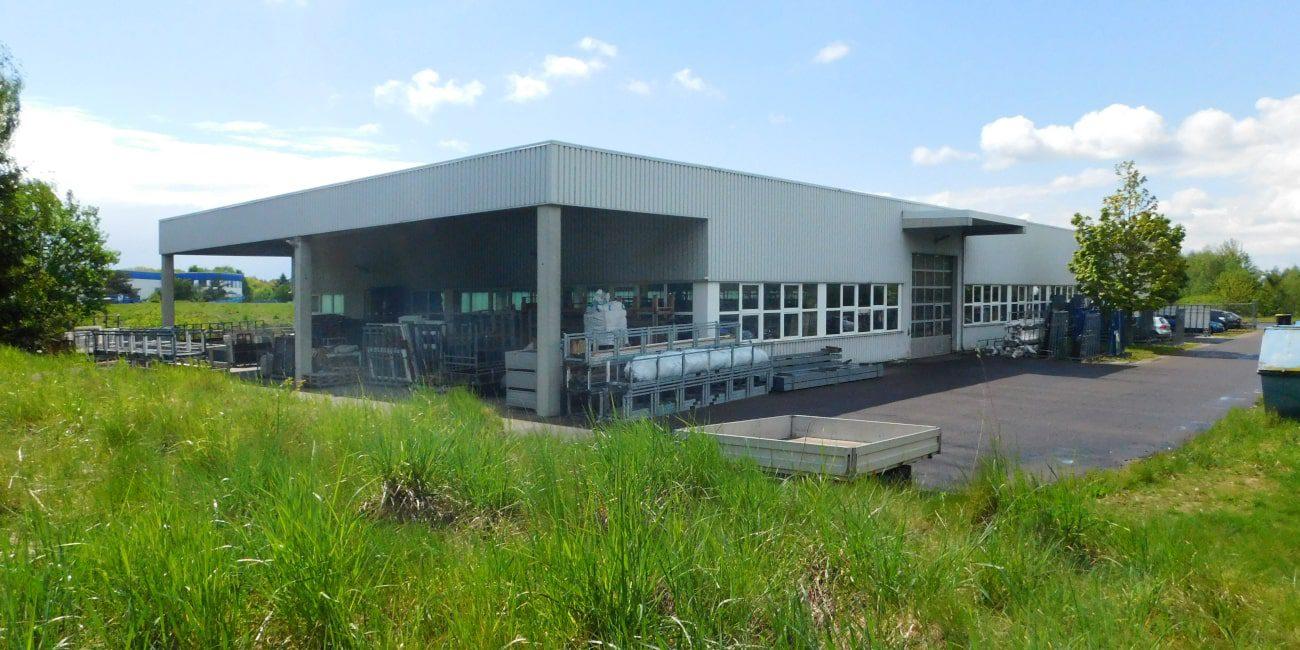 Gewerbegrundstück in Oberrossau mit Produktionshalle und Büroflächen
