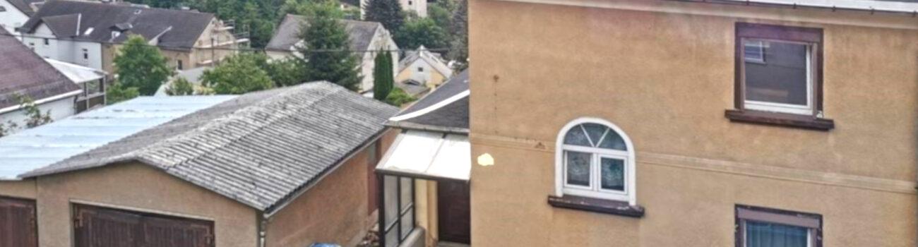Doppelhaushälfte im schönen Oelsnitz im Erzgebirge