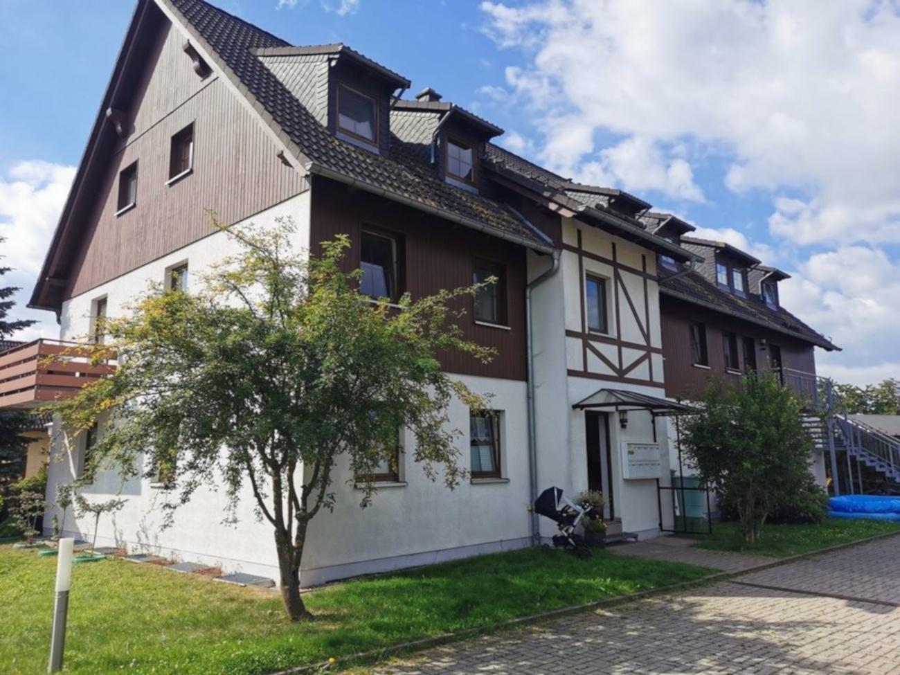 Idyllisch gelegene 3-Raum-Wohnung in Börnichen